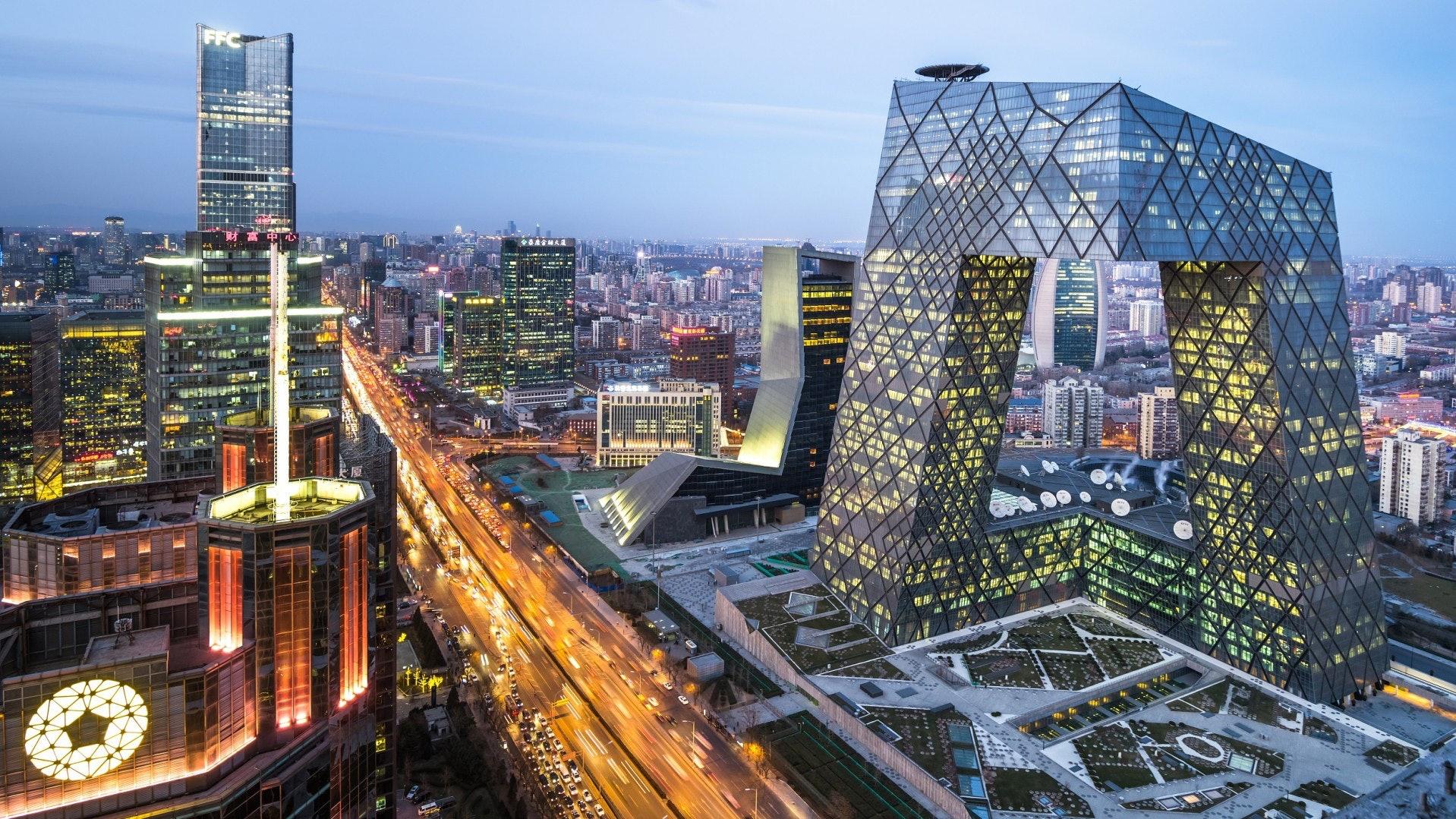 CHINA IS UNDERGOING RAPID ECONOMIC GROWTH