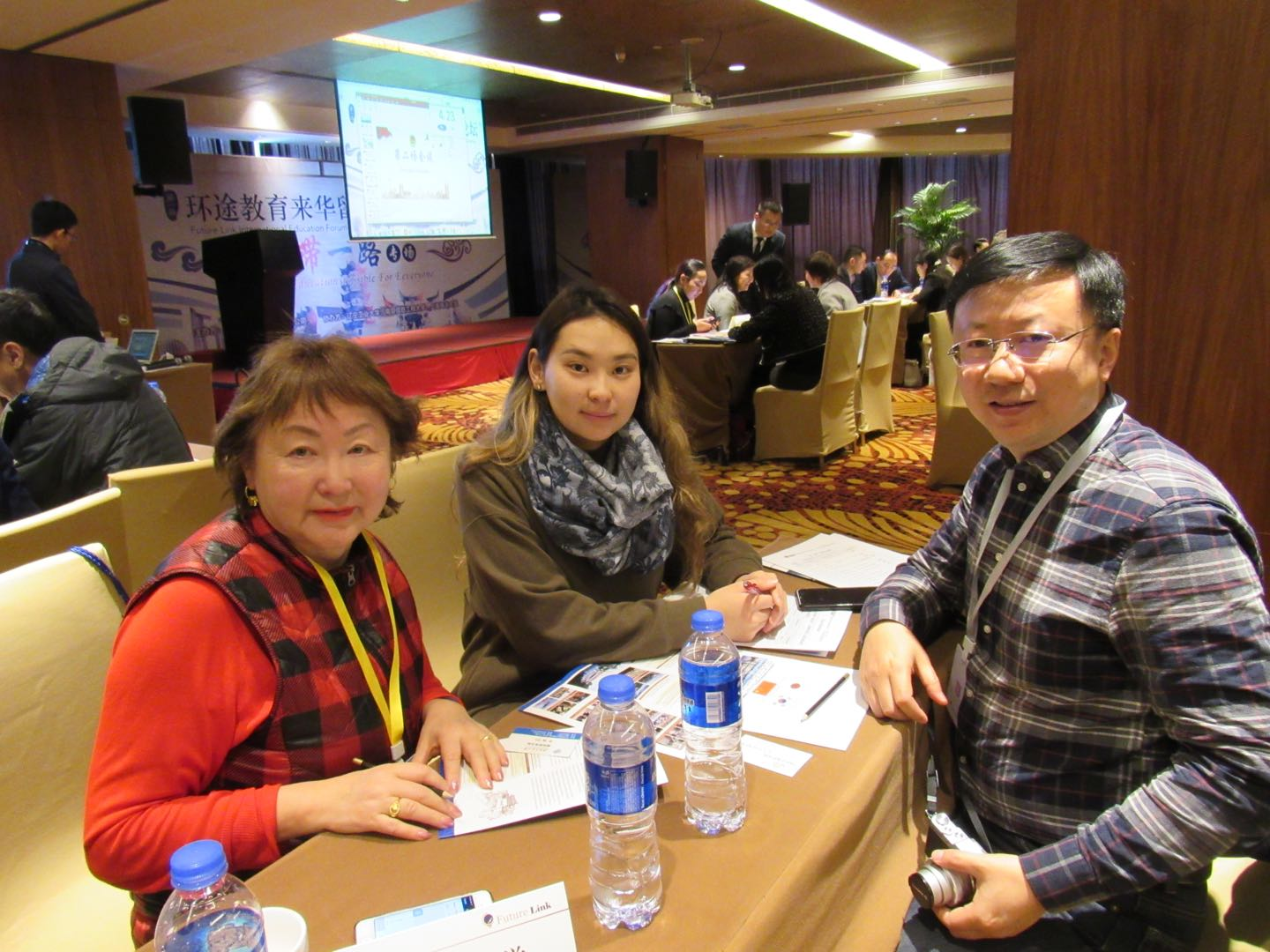 5 Principals From Mongolia High School Joined the 1st Future Link One Belt One R