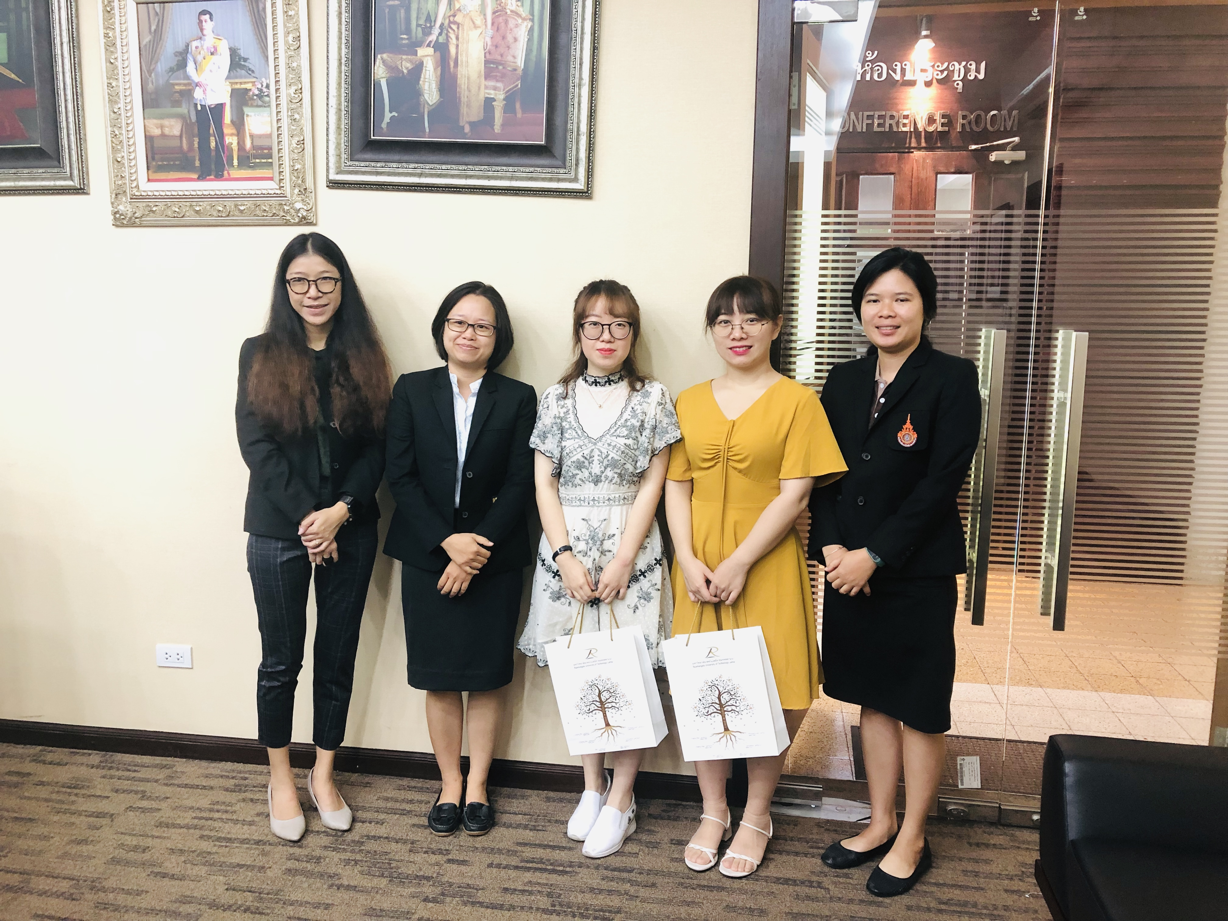 COOPERATION WITH CHIANG MAI UNIVERSITY OF SCIENCE AND TECHNOLOGY