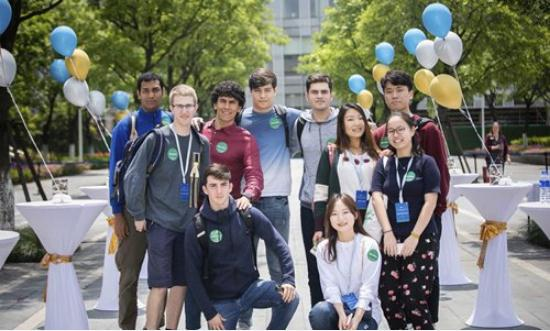 Asian Countries Students in China