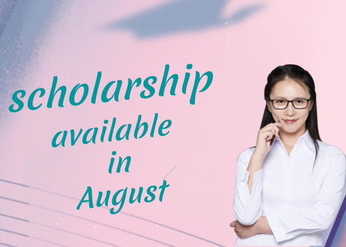 Scholarship Available in August 2021